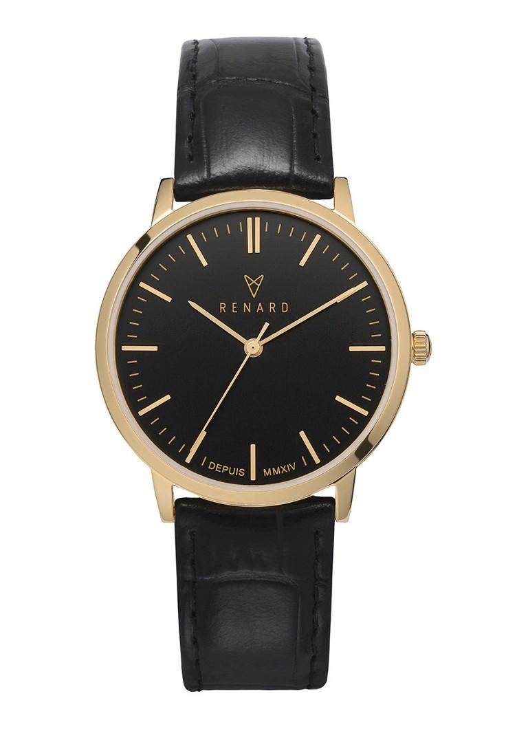 Renard Horloge Elite Black Gold RA361YG30CBK