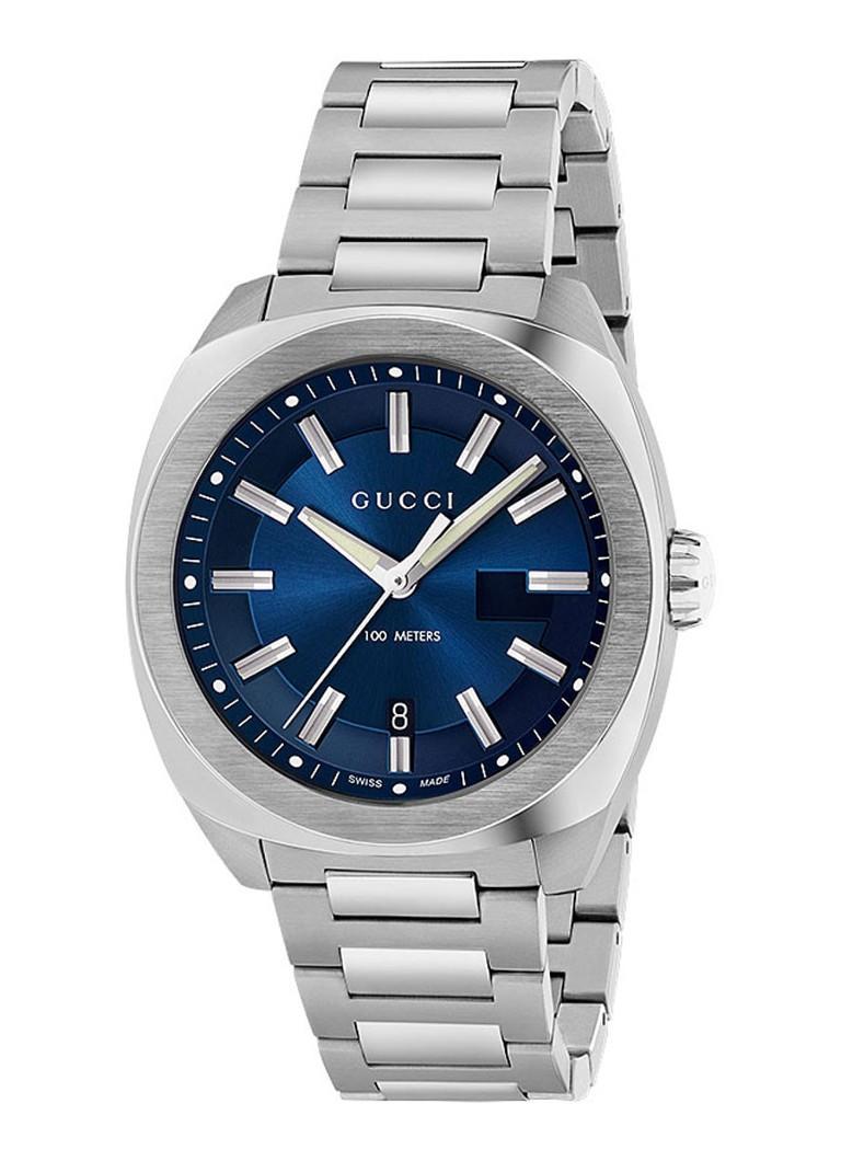 Gucci Horloge GG2570 Blue Dial YA142205