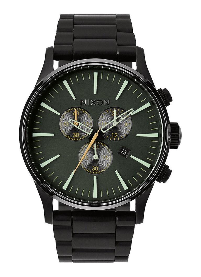 Nixon SENTRY CHRONO Chronograaf Zwart