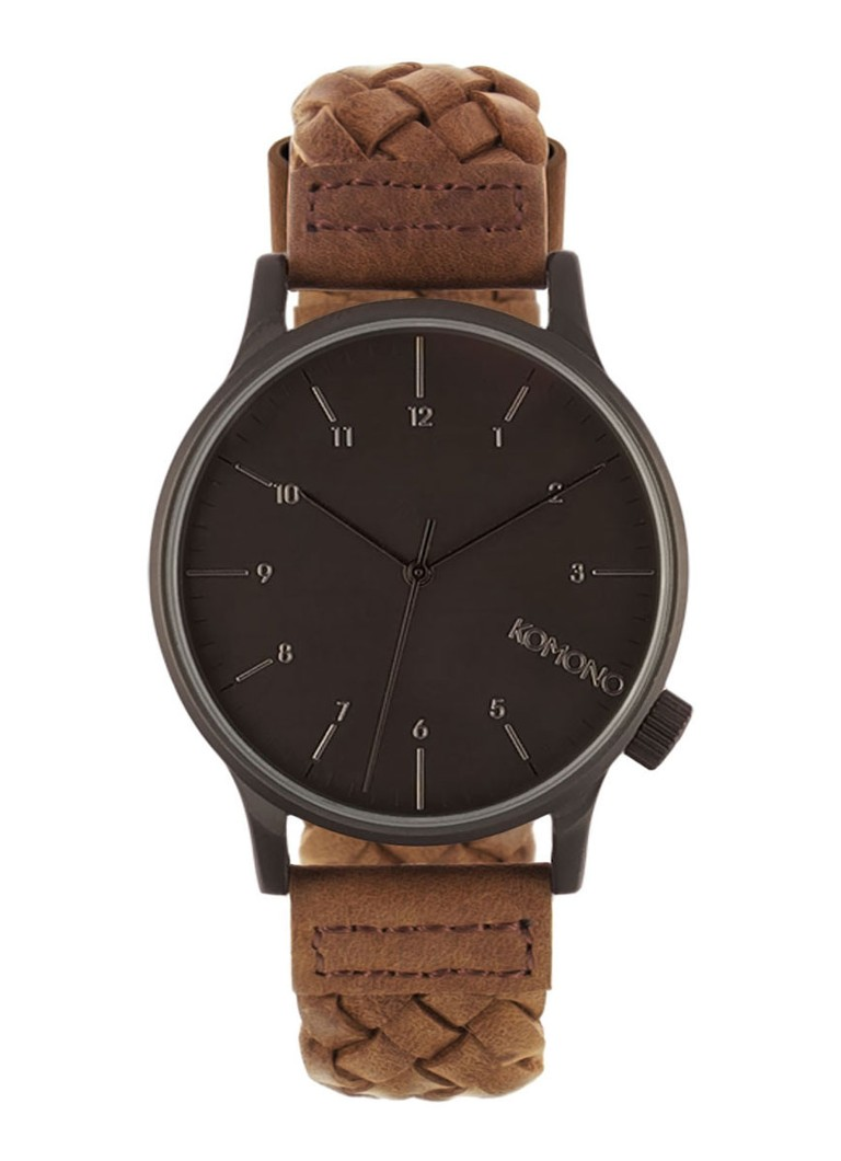 Komono Horloge Winston WV Chestnut