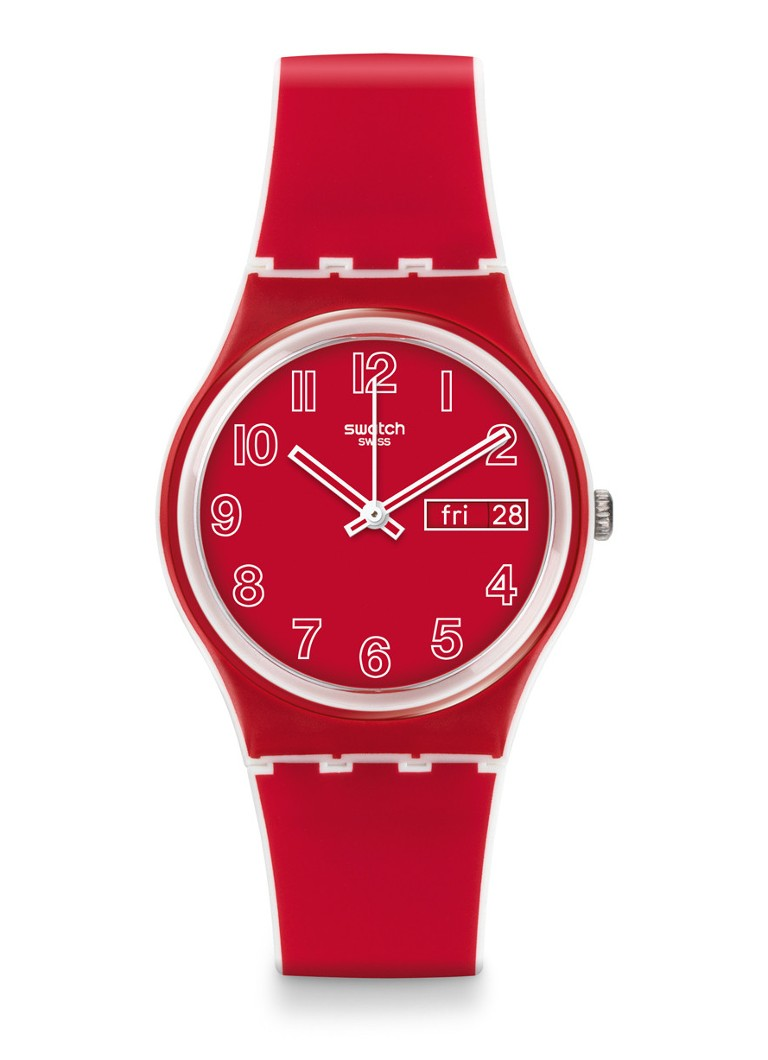 Swatch Horloge Poppy Field GW705