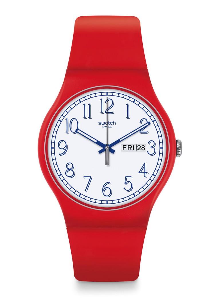 Swatch Horloge Red Me Up SUOR707