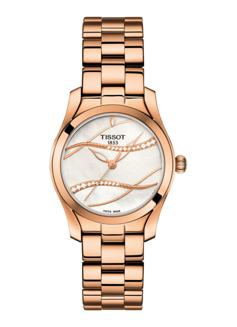 Horloges Tissot Horloge T Wave T112 210 33 111 00 Roségoud