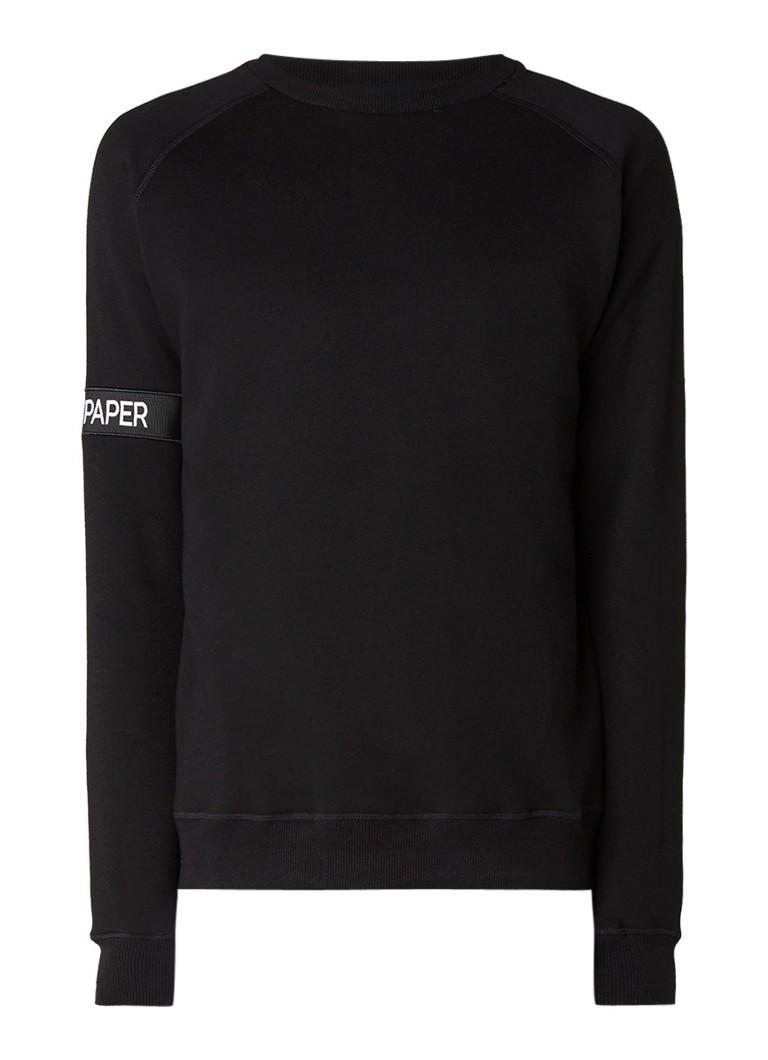 Daily Paper Sweater van katoen met logo op mouw
