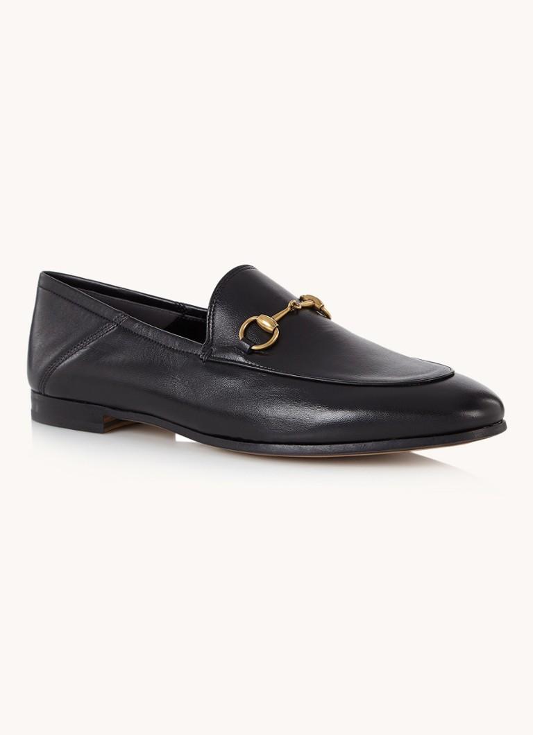 Brixton loafer van leer met horsebit