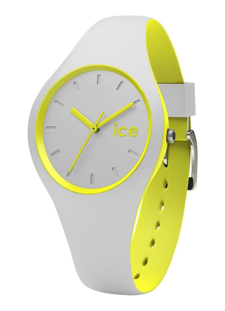 Ice-Watch Horloge Ice Duo Gray Yellow Small IW001492