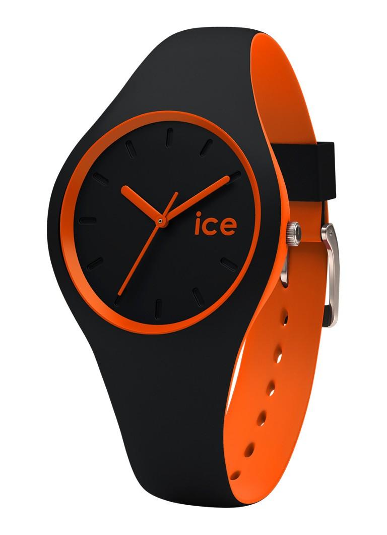 Ice-Watch Horloge Ice Duo Black Orange Small IW001528