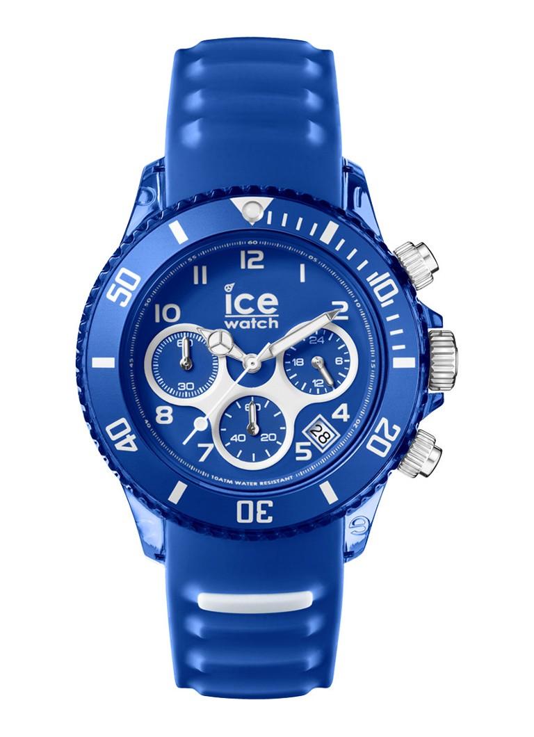 Ice-Watch Horloge Ice Aqua Chrono Marine Unisex IW001459