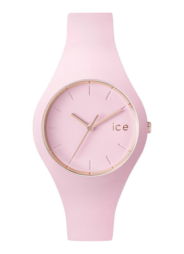 Ice-Watch Horloge Ice Glam Pastel Pink Lady Small IW001065