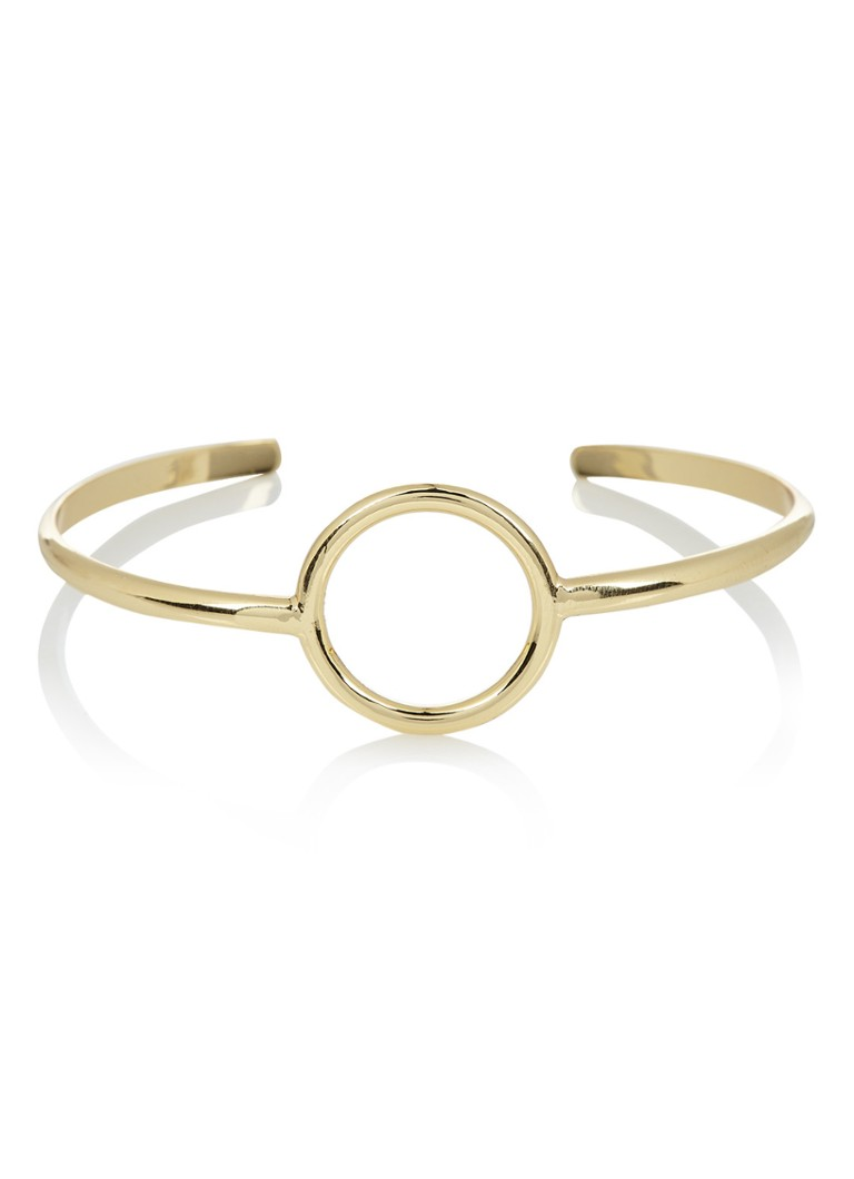 Orelia Open Circle bangle in goudkleur ORE22072