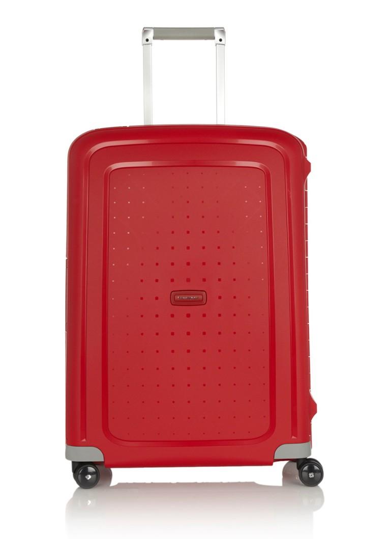 Samsonite S'Cure Spinner 69 Crimson Red