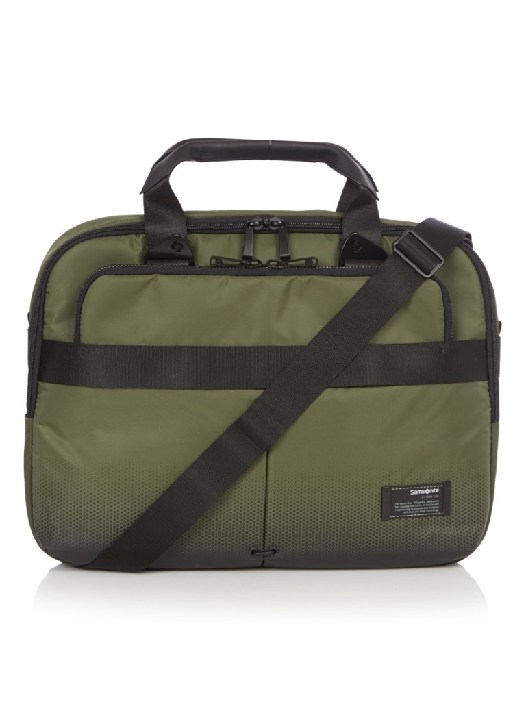 Samsonite Laptoptas Slim Bailhandle 40,6 cm/16 inch urban groen