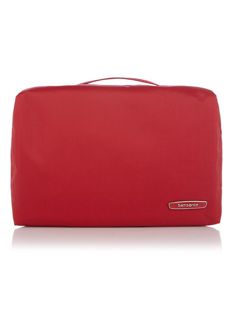 Samsonite Modula Cosmetic Cases Hanging Toiletry Bag true red