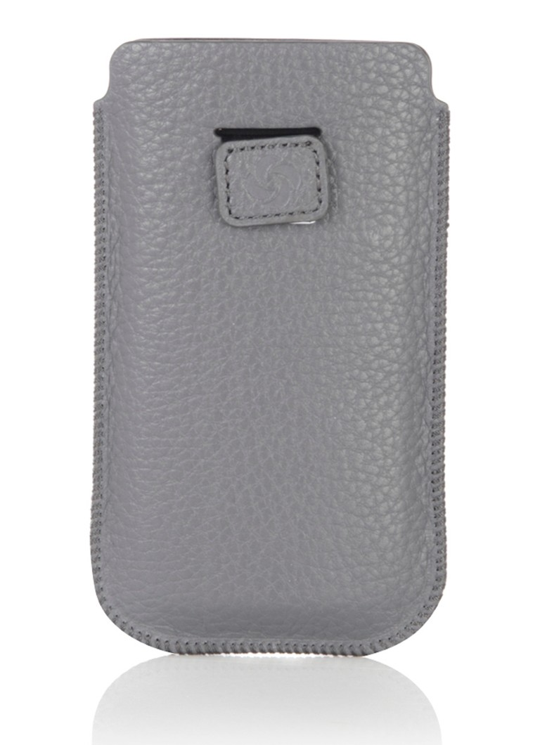 Samsonite Iphone beschermhoes van generfd leer