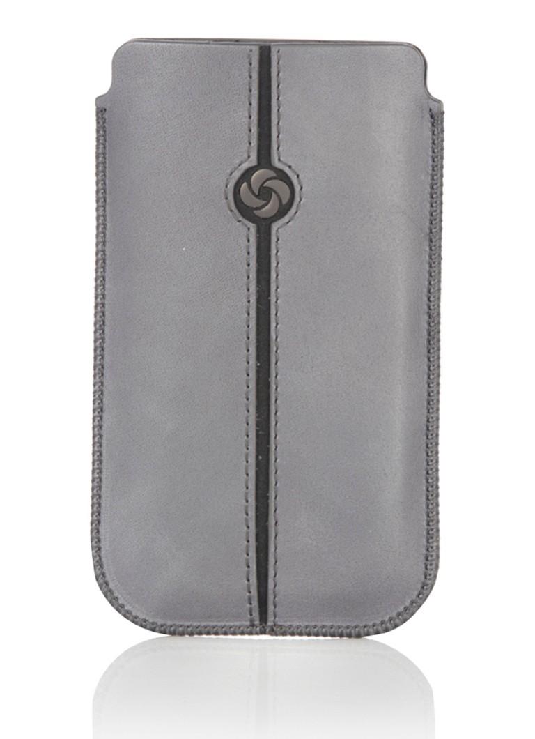 Samsonite Iphone beschermhoes van leer