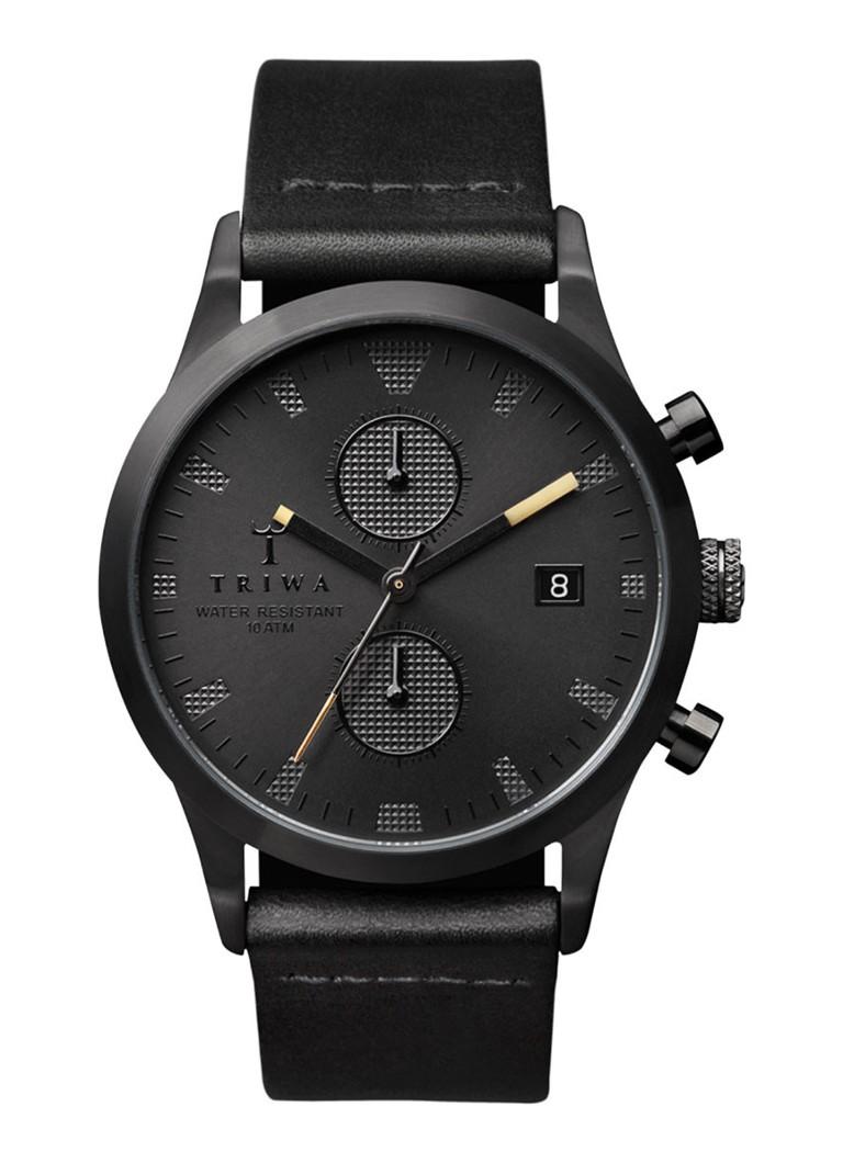 Triwa Horloge Sort of Black Chrono LCST105