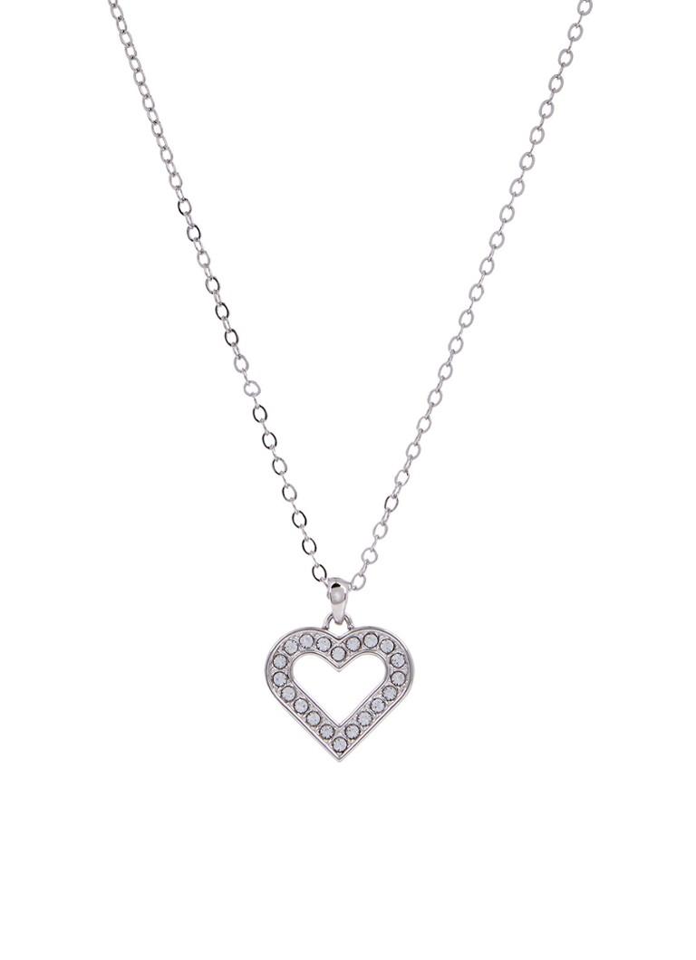 Image of Ted Baker Emerita ketting met hart en Swarovski kristal