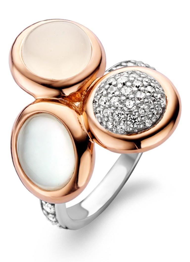 Ti Sento Milano Ring 12013WM - Maat 16.50 mm (52) - Zilver roségoudverguld