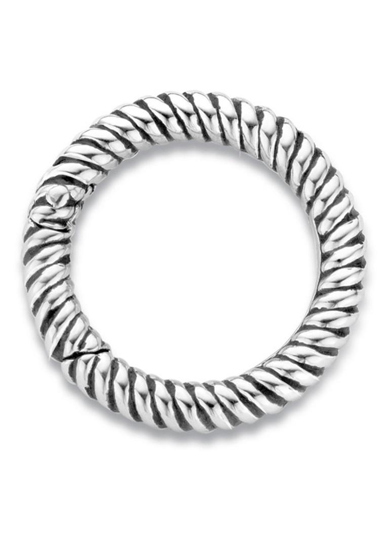 Ti Sento Milano Clipring van gerhodineerd sterling zilver