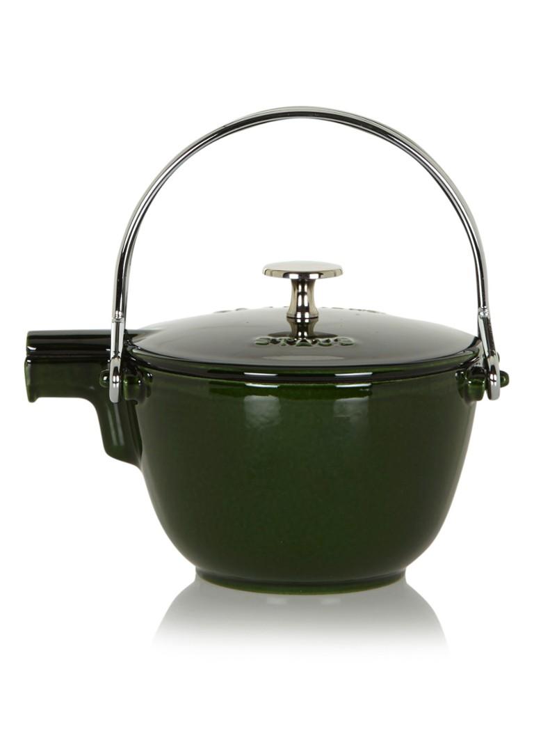 Staub Ronde theepot / fluitketel 1,15 liter - basilicum