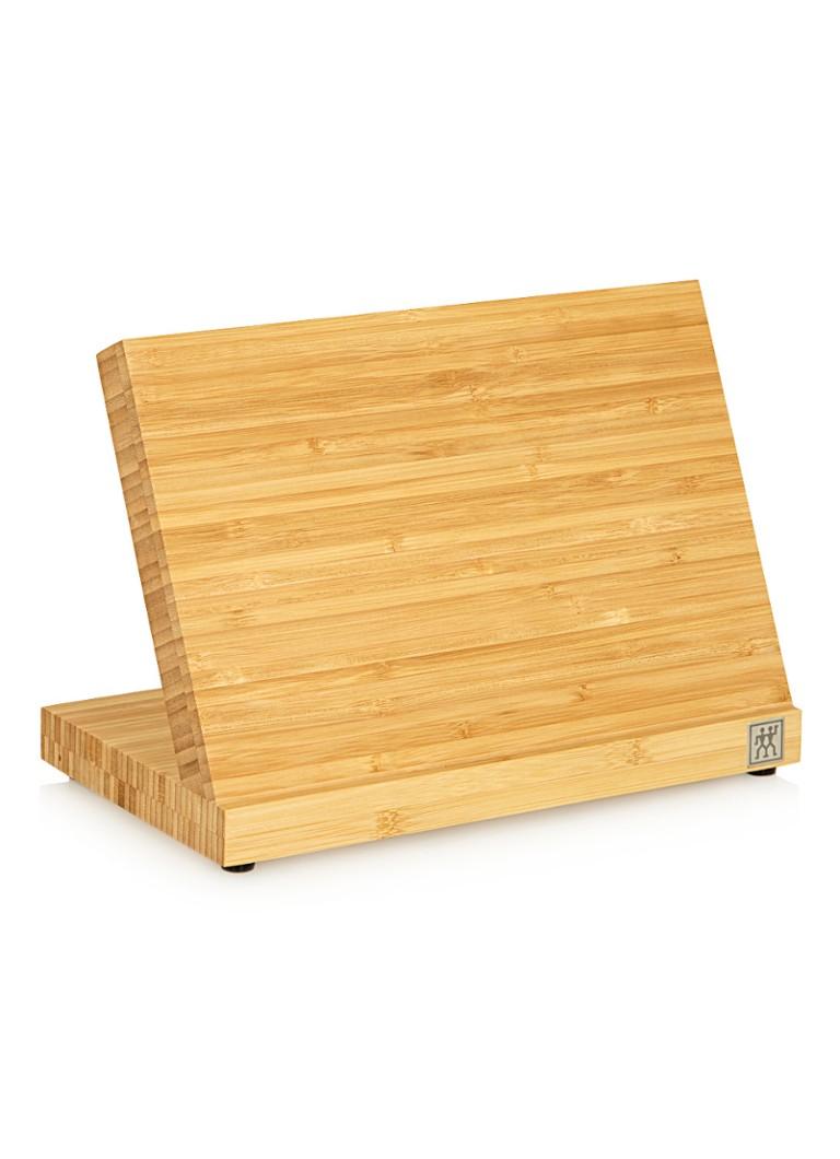 Zwilling J.A. Henckels Magnetisch messenblok van bamboe
