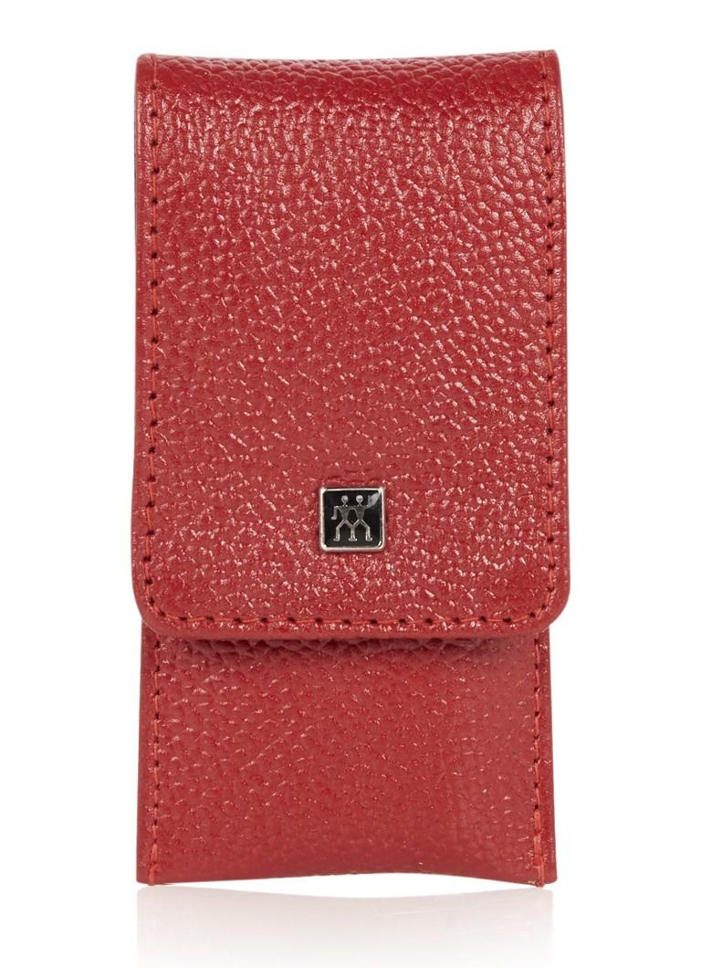 Zwilling J.A. Henckels Nagelset in pocketetui 3-delig rood