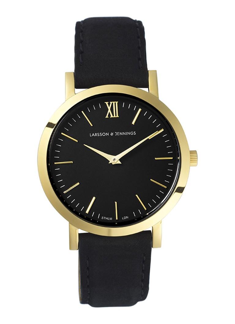 Larsson & Jennings Horloge Liten Black