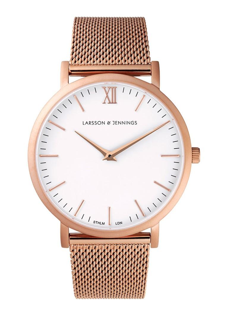 Larsson & Jennings Horloge CM Rose Gold