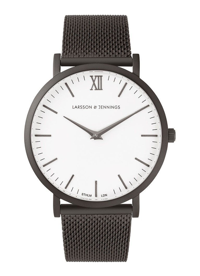 Larsson & Jennings Horloge CM Anthracite