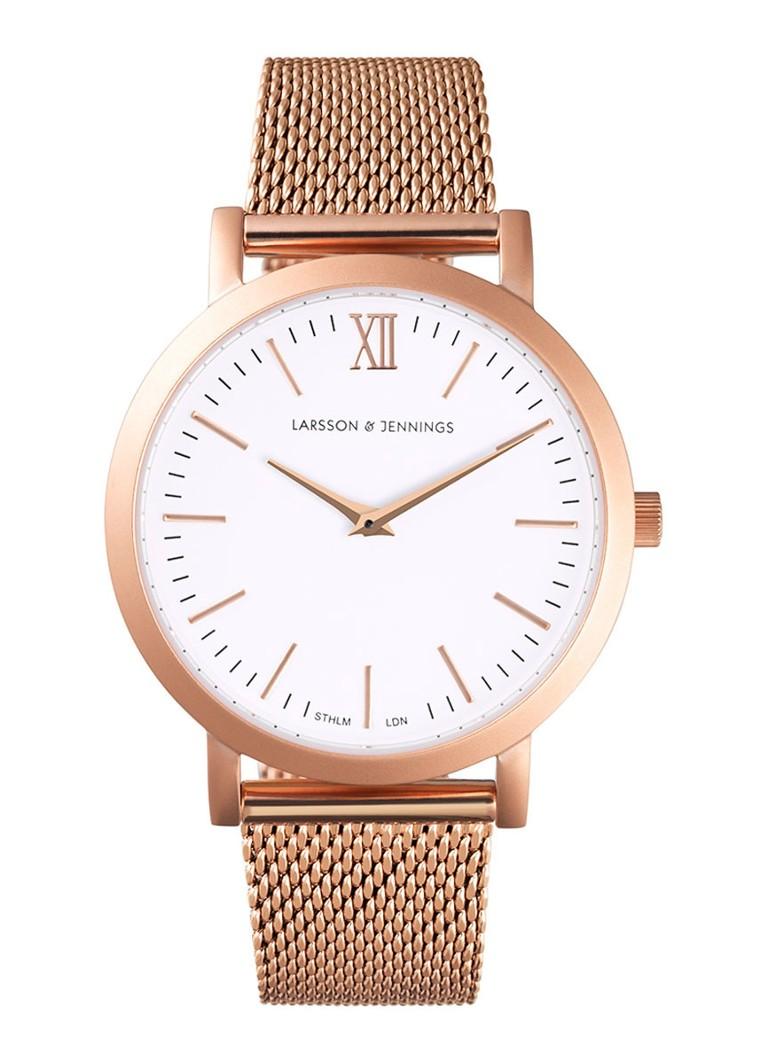 Larsson & Jennings Horloge Liten Rose Gold