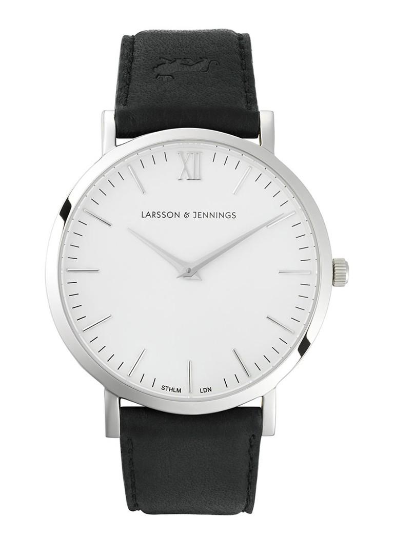 Larsson & Jennings Horloge Läder Mörkt L