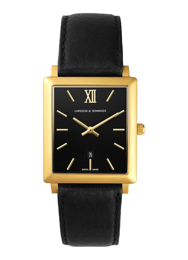 Larsson & Jennings Horloge Norse Brushed Gold