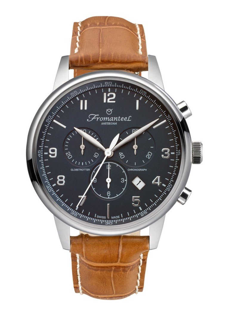 Fromanteel Horloge Globetrotter Chrono GT-0702-010