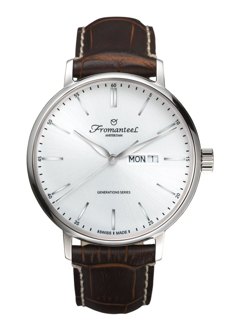 Fromanteel Horloge Generations Day Date White GS-0801-009