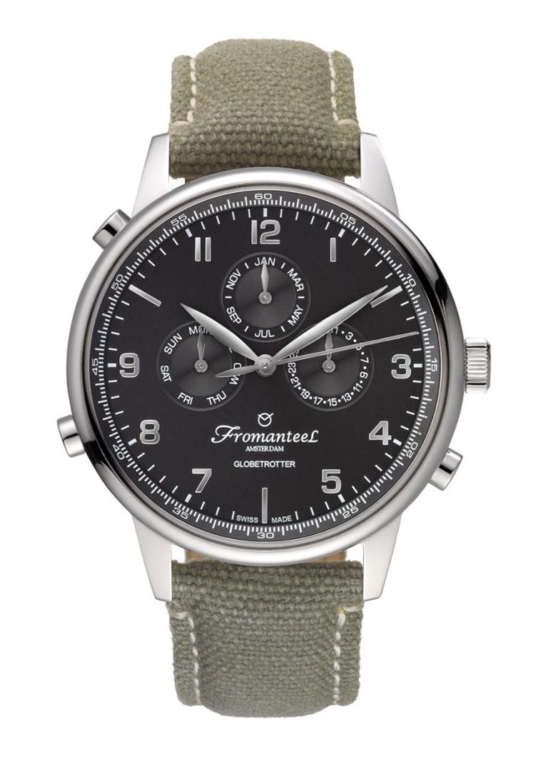 Fromanteel Horloge Globetrotter Calendar GT-0502-016