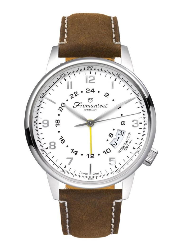 Fromanteel Horloge Globetrotter GMT GT-0601-014