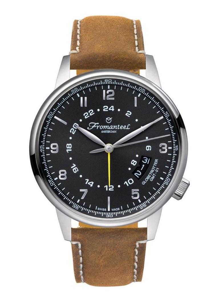 Fromanteel Horloge Globetrotter GMT GT-0602-012