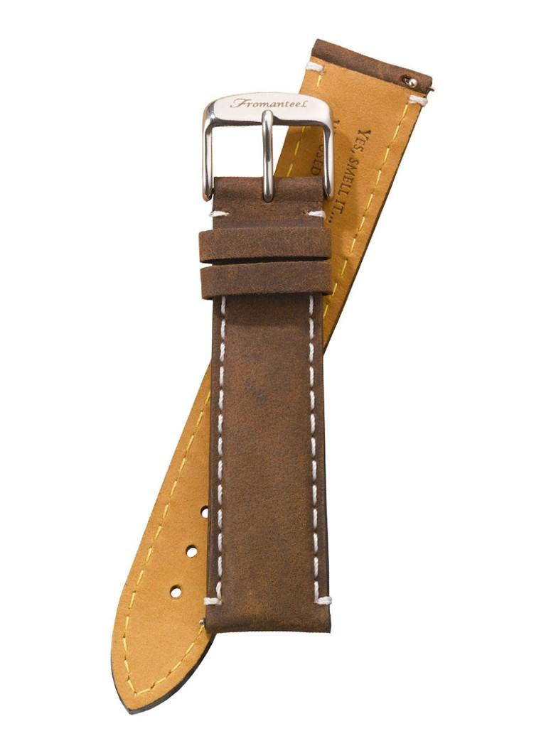 Fromanteel Horlogeband Calf Leather Vintage Dark Brown S-014