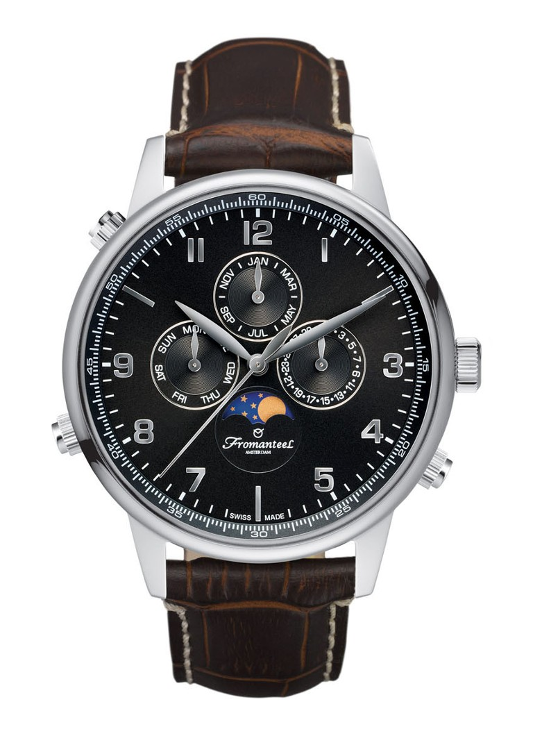 Fromanteel Horloge Globetrotter Moon Phase GT-0532-009