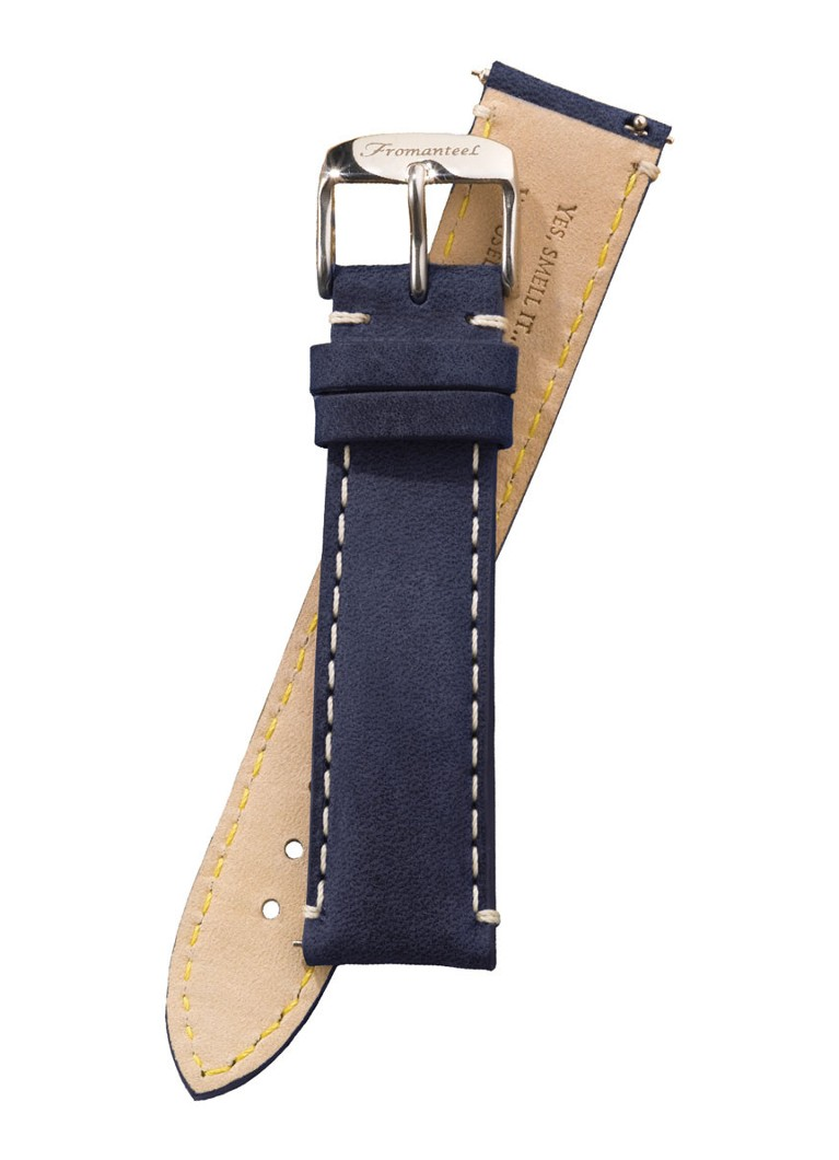 Fromanteel Horlogeband Calf Leather Vintage Blue S-022
