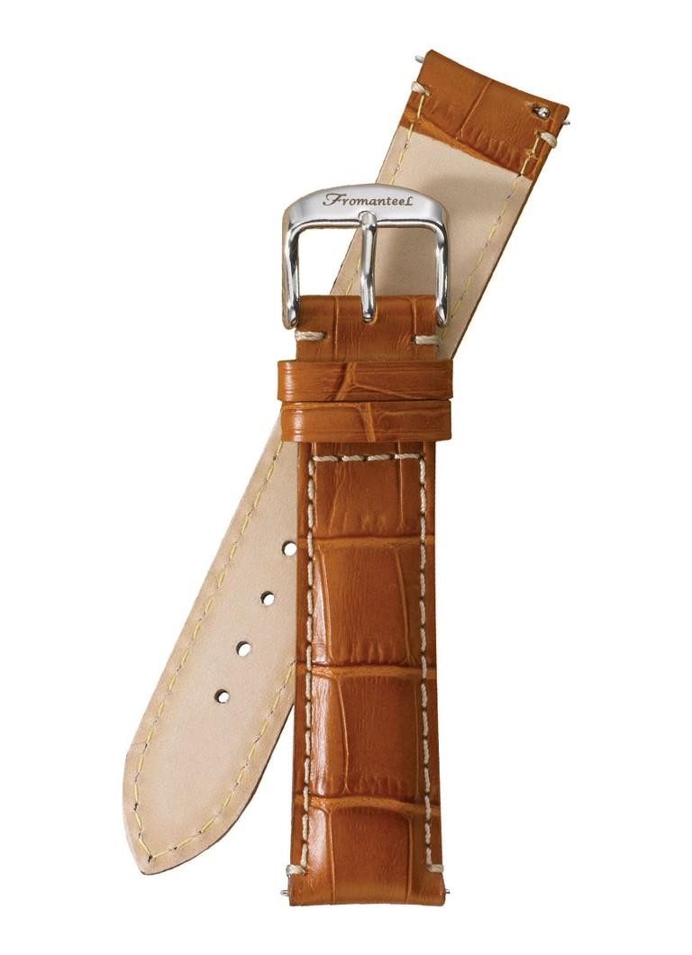 Fromanteel Horlogeband Calf Leather Light Brown Croco S-010