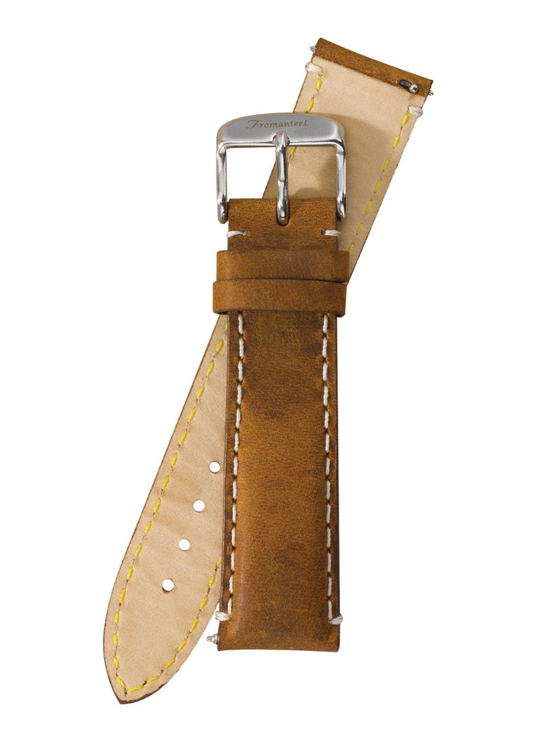 Fromanteel Horlogeband Calf Leather Vintage Light Brown S-012