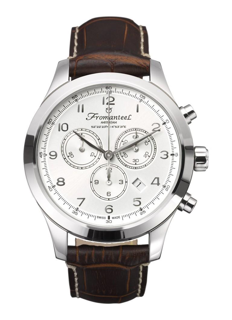 Fromanteel Horloge Amsterdam Chrono White II A-0241-009