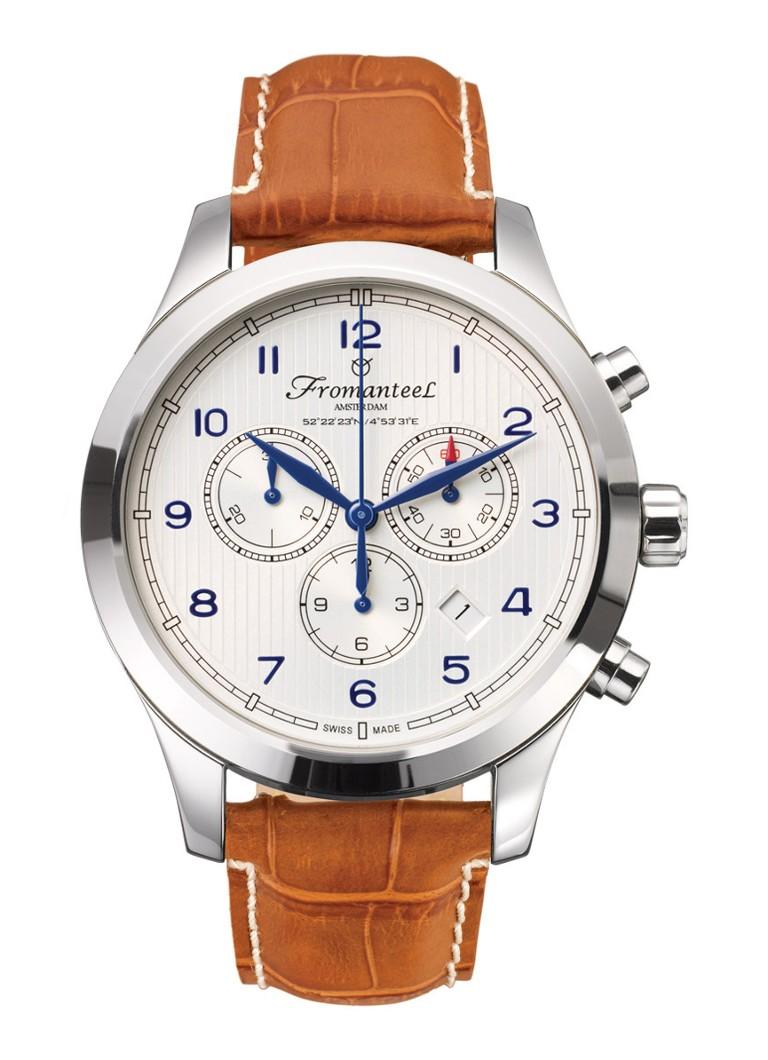 Fromanteel Horloge Amsterdam Chrono Nautique White A-0242-010