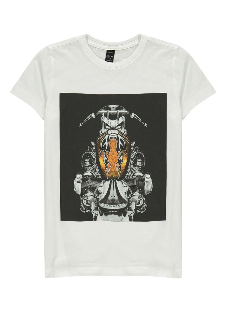Replay and Sons T-shirt met print