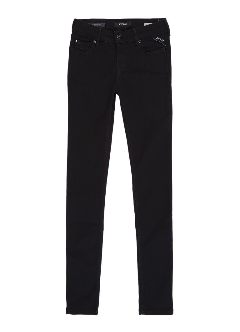 Replay and Sons Super skinny fit jeans in donkere wassing
