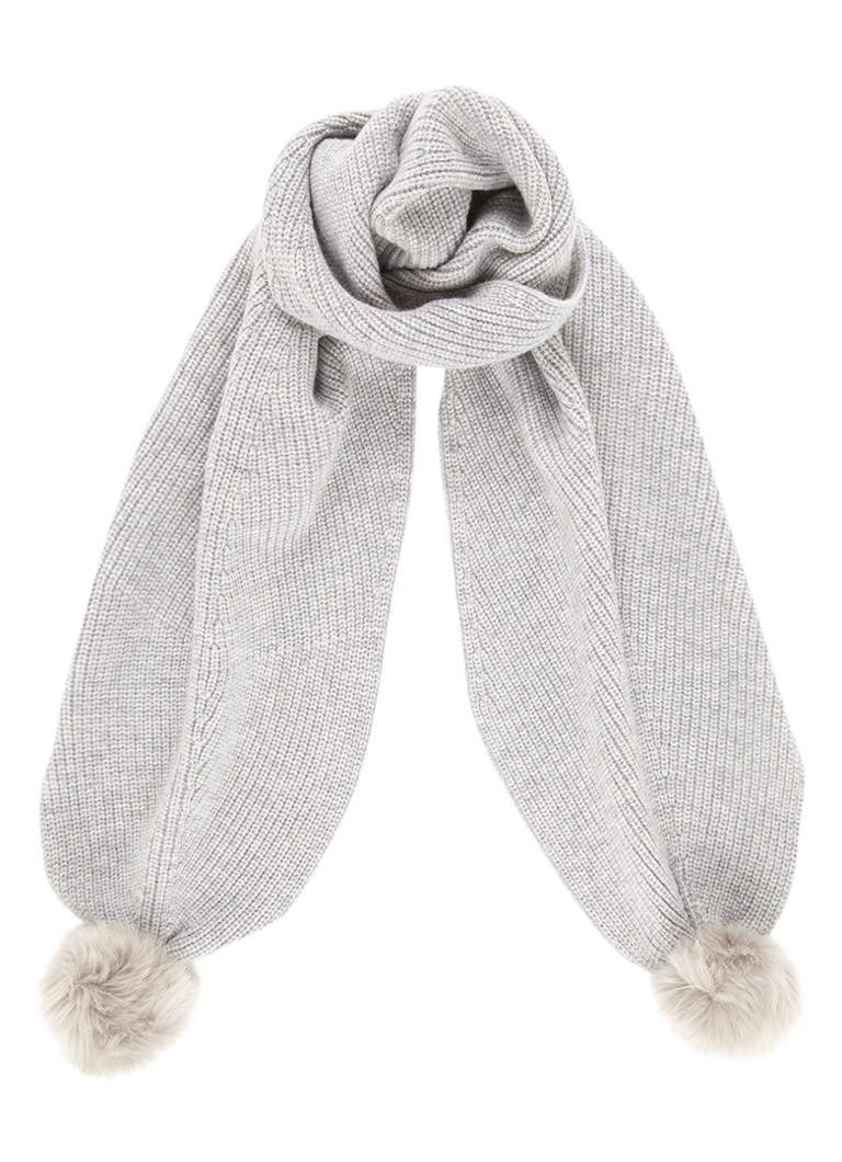 L K  Bennett Rosa sjaal in luxe wolblend 190 x 25 cm