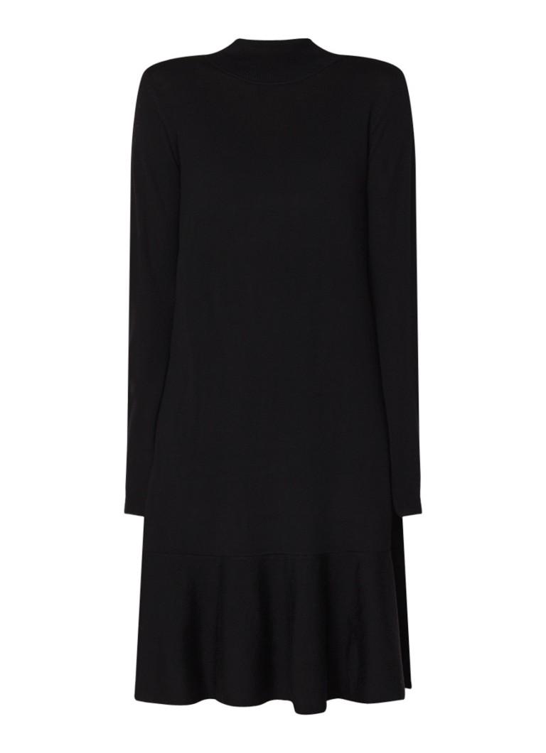 L.K.Bennett Flossy fijngebreide jurk van wol zwart