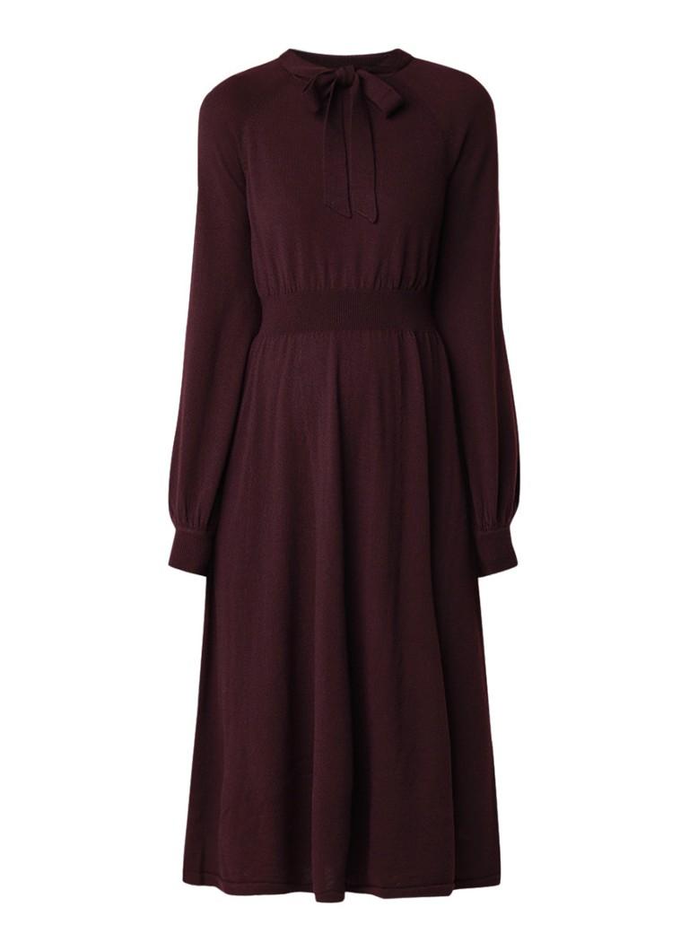 L.K.Bennett Carroll fijngebreide midi-jurk van merinowolCCarroll fijngebreide midi-jurk van merinowolaCarroll fijngebreide midi-jurk van merinowolrCar