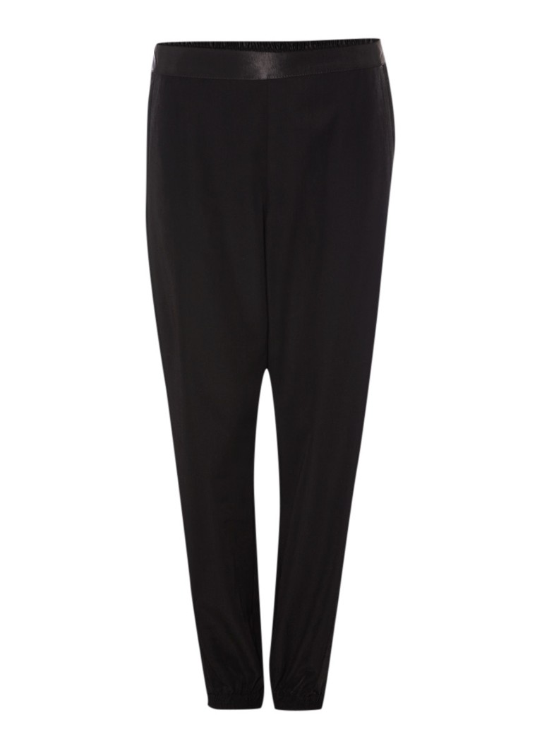 TOPSHOP Cropped sweatpants in zijdelook